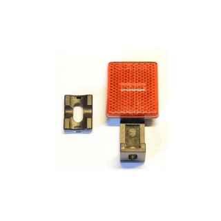 Rückstrahler rot für  hinten winkelverstellbar