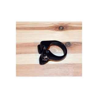 M-Wave Sattelklemmschelle Sattelklemme Gepäckträgerbefestigung 34.9 mm schwarz-01